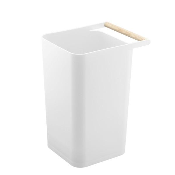 petite poubelle blanche design corbeille bureau tendance yamazaki. Black Bedroom Furniture Sets. Home Design Ideas