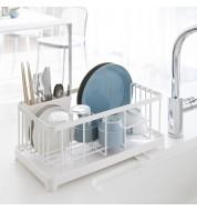 Égouttoir à vaisselle blanc Tower Yamazaki