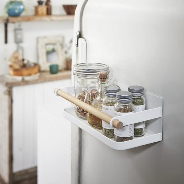 tag re pices tosca blanche tag re magn tique pour frigo. Black Bedroom Furniture Sets. Home Design Ideas