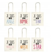 Tote bag original Je suis (x1)