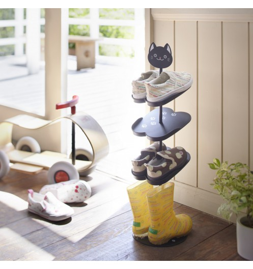 etagere chaussures pour enfant rangement chaussures d co yamazaki. Black Bedroom Furniture Sets. Home Design Ideas
