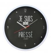 Horloge murale Pressé