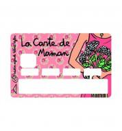 Stickers CB La carte de maman