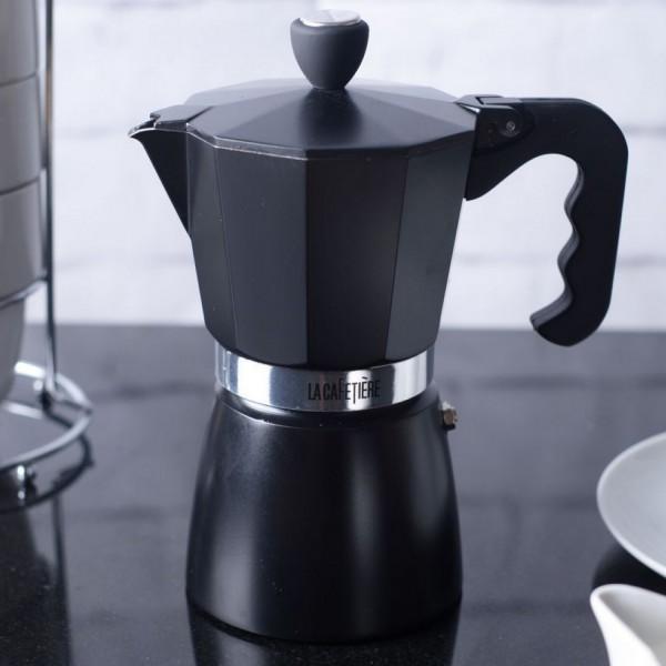cafeti re italienne espresso noire cuisine lacafeti re. Black Bedroom Furniture Sets. Home Design Ideas