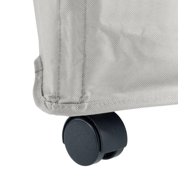 panier linge tresco beige panier a linge roulettes. Black Bedroom Furniture Sets. Home Design Ideas