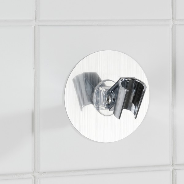 Support pomme de douche salle de bain wenko for Support gel douche salle bain