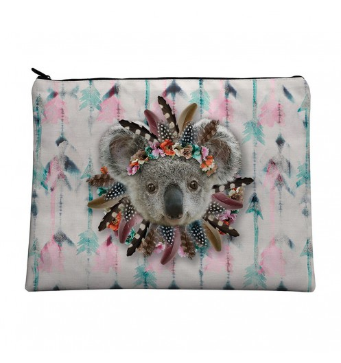 trousse de toilette femme koala lavable en machine