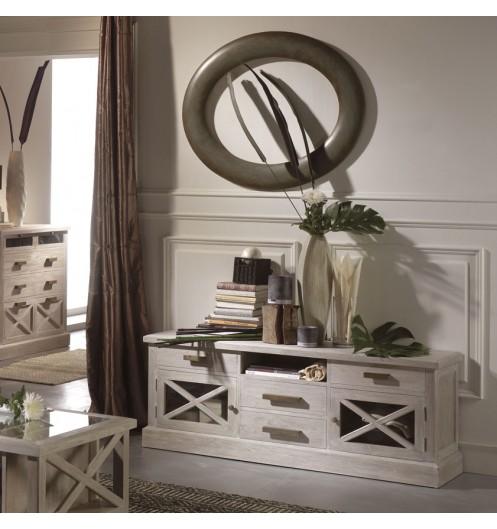 meuble tv royal mobilier banak. Black Bedroom Furniture Sets. Home Design Ideas