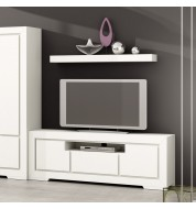 Meuble tv blanc loft Banak
