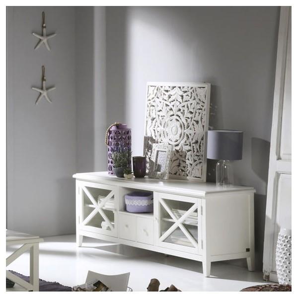 meuble tv niza mobilier banak. Black Bedroom Furniture Sets. Home Design Ideas