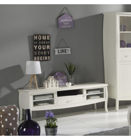 Meuble tv blanc nimes meuble tele banak importa for Meubles nimes