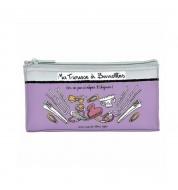 Trousse à barrettes violette DLP