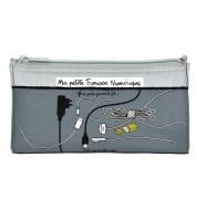 Trousse  grise pour chargeur numériques dlp