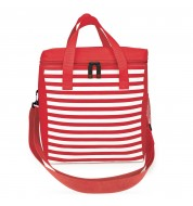 Sac isotherme repas 12L Rayures rouges Iris