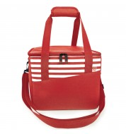 Sac isotherme repas 17L rouge
