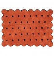 Tapis enfant lavable Biscuit (120x160cm)
