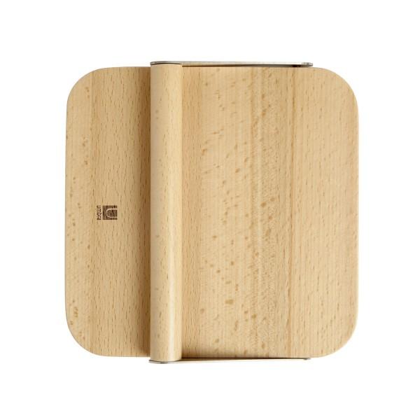porte serviette en bois avec bras pivotant porte sevriette original. Black Bedroom Furniture Sets. Home Design Ideas