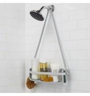 Etagère de douche ajustable Flex gris