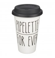 Mug take away céramique Pipelette