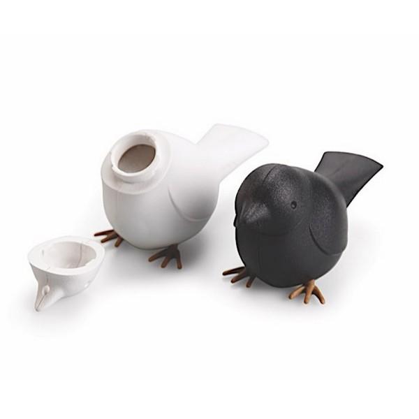 sali re et poivri re oiseaux duo pour sel et poivre original. Black Bedroom Furniture Sets. Home Design Ideas