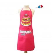 Tablier de cuisine Mamie Gateaux rose