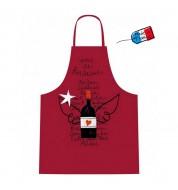 Tablier de cuisine Vins de Bordeaux