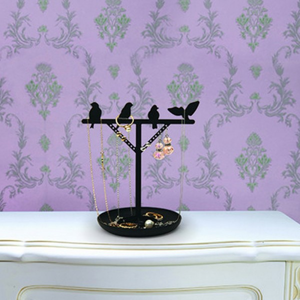 porte bijoux original bird rangement bijoux pour femme. Black Bedroom Furniture Sets. Home Design Ideas