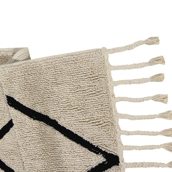 Tapis de salon blanc grand tapis salon et entr e - Tapis pour salon noir et blanc ...