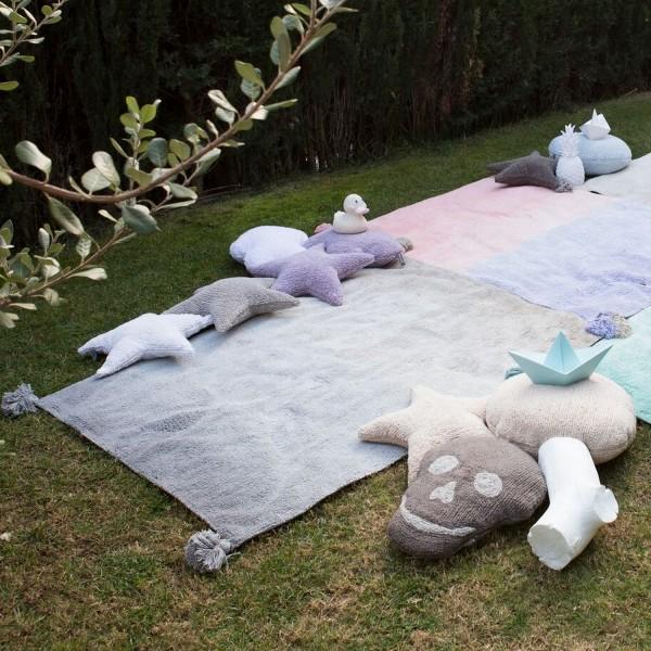 tapis salon gris bleu tapis gris clair d grad lorena canals. Black Bedroom Furniture Sets. Home Design Ideas