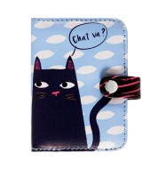 Porte carte Black Cat
