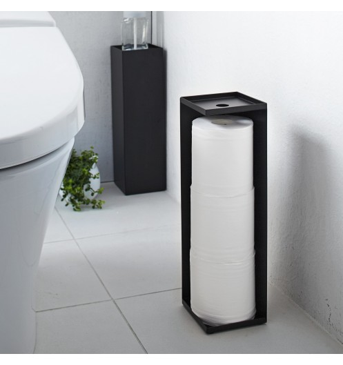 distributeur papier toilette noir accessoires wc. Black Bedroom Furniture Sets. Home Design Ideas