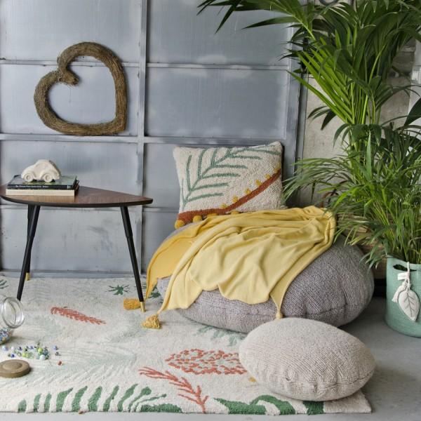 tapis lavable original pour salon lorena canals. Black Bedroom Furniture Sets. Home Design Ideas