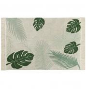 Tapis salon lavable Tropical Green