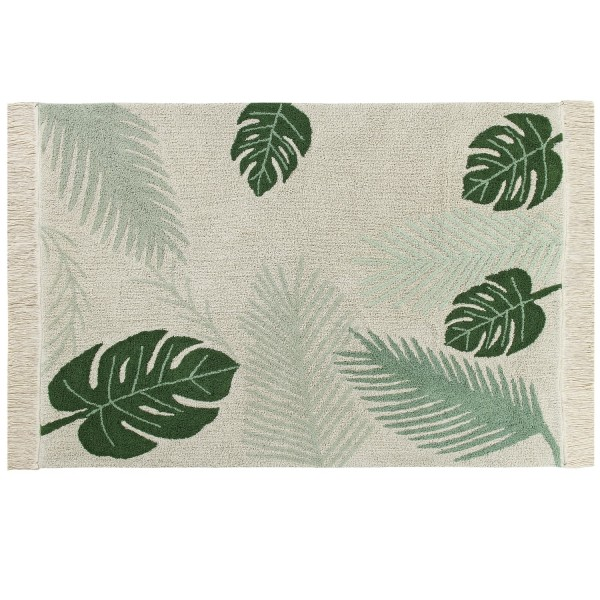 tapis original style tropical tapis salon deign lavable en machine. Black Bedroom Furniture Sets. Home Design Ideas
