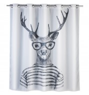 Rideau de douche original Mr Deer