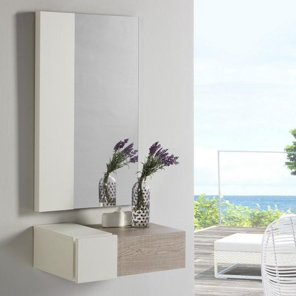 meuble d 39 entr e en bois concept meuble d 39 entr e avec miroir. Black Bedroom Furniture Sets. Home Design Ideas
