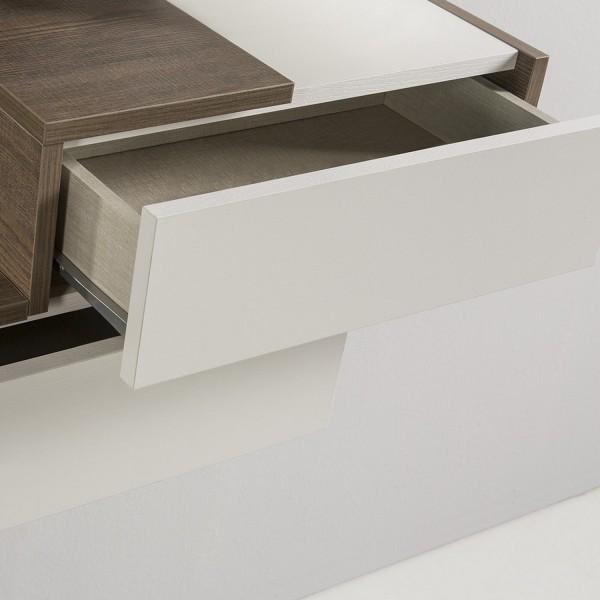 meuble console design avec trois miroirs meuble d 39 entr e. Black Bedroom Furniture Sets. Home Design Ideas