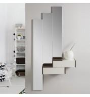Meuble console design avec miroirs