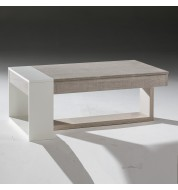Table basse Relevable design bois