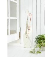 Porte parapluie Design Métal Blanc Chat Yamazaki