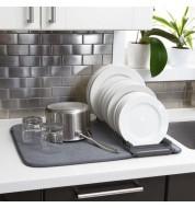 Égouttoir à Vaisselle et Tapis de Séchage en Microfibre Umbra
