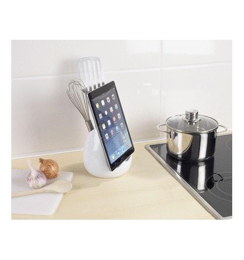 https://www.deco-et-saveurs.com/16313-jqzoom/porte-ustensiles-avec-support-pour-tablette-wenko.jpg