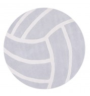 Tapis Tennis ball gris