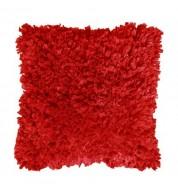 Housse de coussin rouge Romano