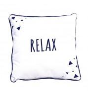 Coussin Relax bleu