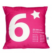 Coussin multiplication 6