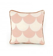 Coussin Joe Scales rose