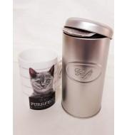"""Boite à café et son mug Chat """"Purrfect"""""""