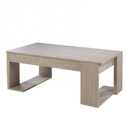 Table Relevable Bois Clair Table Basse Basse WDH2IYE9eb