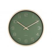Horloge murale Karlsson or et vert
